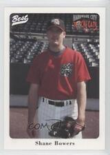 1996 Best Hardware City Rock Cats #8 Shane Bowers Rookie Baseball Card