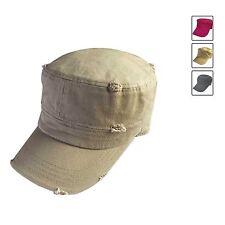 Classique Vintage Larme Cadet Casquette Style Militaire Chapeau Armée Castro 1sz