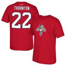 Shawn Thornton Reebok Florida Panthers Player Premier Red Jersey T-Shirt Men's