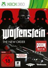 Microsoft Xbox 360 Spiel - Wolfenstein: The New Order (DEUTSCH) (mit OVP)