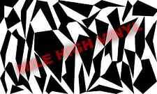 Splinter German Camouflage Stencil Cerakote Duracoat Airbrush Vinyl Painting