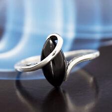 Onyx Silber 925 Ring verschiedene Größen P363