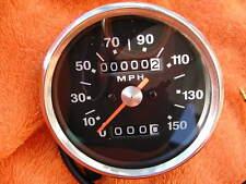 Negro Cubierta MPH SPEEDOMETER BSA Triumph 1970-78 HERREROS TIPO Speedo Reloj