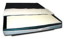 Orthopädischer Visco Softside Wasserbett Viscotopper 2 cm mit Piqué-Bezug