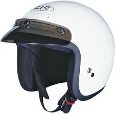 Z1R Adult White Jimmy 3/4 Open Face Motorcycle Helmet 2017