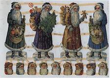 # GLANZBILDER # EF 7306, schöne alte Weihnachtsmotive groß & klein