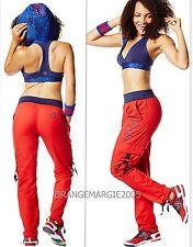 ZUMBA 2Pc.Set!Soft-n-Stretch CARGO PANTS + OhMy Hoodness Sports Bra Top XS S M L