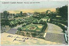 CARTOLINA d'Epoca: ROMA - ALBANO LAZIALE 1905