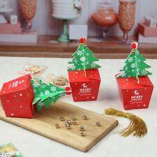3 x Christmas Tree Gift Box Bakery Box Lolly Box