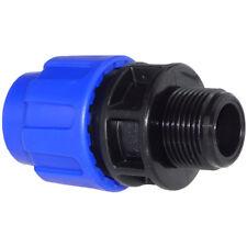 PE-Kupplung Aussengewinde - PE Rohr Klemm Verschraubung (Trinkwasser geeignet)