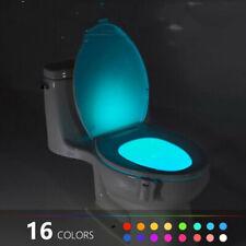16/8 Colors Changing Body Sensing Automatic Led Motion Sensor Night Lamp Toilet1