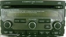 Pilot 2006-2008 XM ready CD6 6CD radio. OEM factory original 1TV8 CD changer