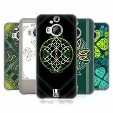 COVER HEAD CASE DESIGNS celtic shamrock Soft Gel Custodia Per HTC Telefoni 2