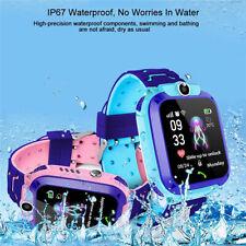 Q12 Kids Waterproof Smart Phone Watch LBS Positioning SOS Call Alarm SIM Camera