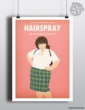 HAIRSPRAY Minimalist Musical Poster Minimal Print by Posteritty Art John Waters