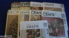 K McCall's ~ All Craft Patterns ~ U-PICK ~ 44+ Listed ~ 9327 ~ NIP