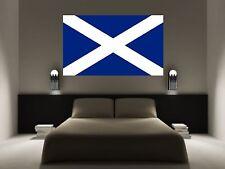 Bandera de Escocia Vinilo Arte Pared Adhesivo Calcomanía Auto 5 Tamaños