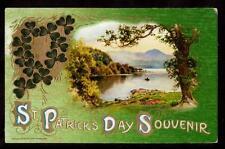 1910 winsch innisfallen killarney st.patricks day postcard