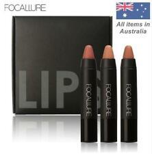 FOCALLURE Long Lasting Waterproof Matte Makeup Lipstick Pencil Crayon 3 Pcs/Set