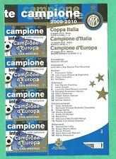 NUOVI BANDELLA SAN MARINO 2010 INTER 3 VOLTE CAMPIONE con ELENCO VITTORIE INTER