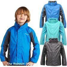 Regatta tiru Impermeable Kids Lluvia Abrigo Chaqueta Chicos Chicas edad 3-12yrs