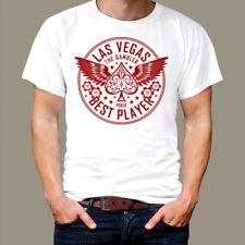 Las Vegas T-shirt, high roller best player vintage retro new tee