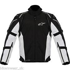 Alpinestars Megaton waterproof drystar black grey motorcycle motorbike jacket