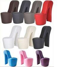 Schuhsessel Sessel Stuhl DESIGNER High Heel mit Nieten in verschiedenen Farben