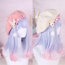 Hair Pin Lolita Hair Accessories Sweet Japan Kawaii Bow Cute Beret Painter Cap