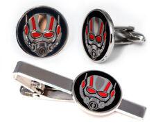 Ant-Man Cufflinks, Avengers Tie Clip, Antman Cuff Links, Marvel Wedding Jewelry