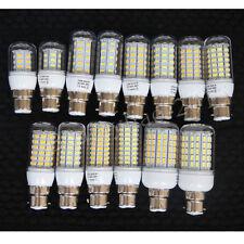 Ultra Bright B22 Bayonet BC Socket LED SMD 5730 Corn Spot Light Lamp Bulb 220V