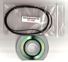 SONY TC-105 TC-105A Reel-to-Reel Belts w/wo a  pdf MANUAL on CD +FREE shipping