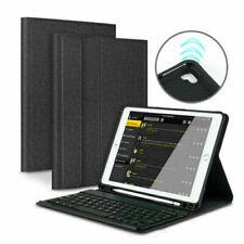DE DEUTSCHE Tastatur für iPad 2018/2017/Air 1 2 QWERTZ Bluetooth Tastatur Case