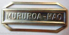 AGRAFE BARRETTE MURUROA HAO Médaille Marine Légion Air Défense Nationale France