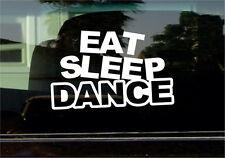EAT SLEEP DANCE VINYL STICKER
