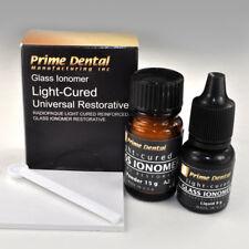 Glass Ionomer light Cured Universal Restorative Cement Kit A2 Prime-Dent USA