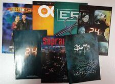 DVD Boxset Booklets - eg. 24, ER, Doctor Who, OC, Sopranos, Buffy, CSI, Angel.