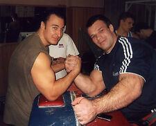 ALEXEY VOEVODA ARM WRESTLING CHAMPION 8X10 SPORTS PHOTO (V)