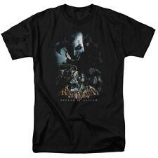 Batman Arkham Asylum Five Against One  DC Comics Licensed Adult T-Shirt