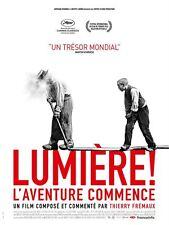 LUMIERE ! L'Aventure Commence Affiche Cinéma / Movie Poster Thierry Frémaux Docu