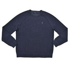 Polo Ralph Lauren Mens Crew Neck Pullover Sweater Blue XL