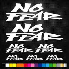 No Fear 7 Stickers Autocollants Adhésifs Moto Auto Voiture Sponsor Marques