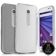 For Motorola Moto G 3rd Gen 2015 Ultra Thin Transparent Durable Slim TPU Case