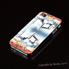 iPhone 4 4S Hard Case Schutz Hülle Cover Etui Motiv London Bridge Big Ben+ Folie