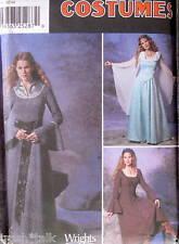 Halloween Costume Medieval dress pattern sz 14-20