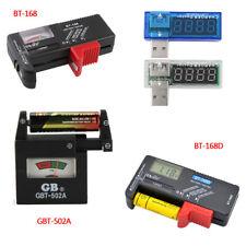 New AA AAA C D 9V 1.5V Universal Button Cell Battery Volt Tester Checker
