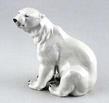Porzellan Figur Großer Eisbär Wagner & Apel 14x22x24cm 9942041