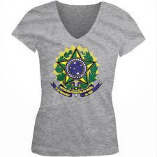 Republica Federativa Do Brasil 15 De Novembro 1889 BRA BR Juniors V-Neck T-Shirt