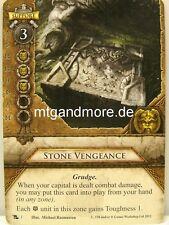 Warhammer Invasion - 2x Stone Vengeance  #003 - Rising Dawn