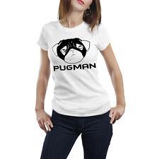 Pug Tshirt pug hero Pugman